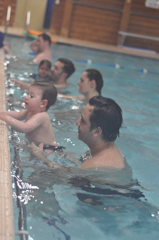 Childrens swimming classes in Oxted