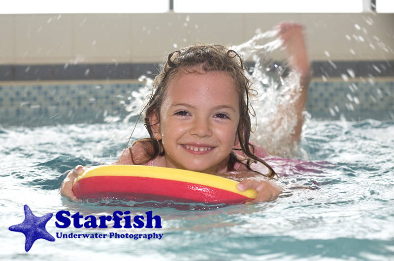 Children's swimming lessons