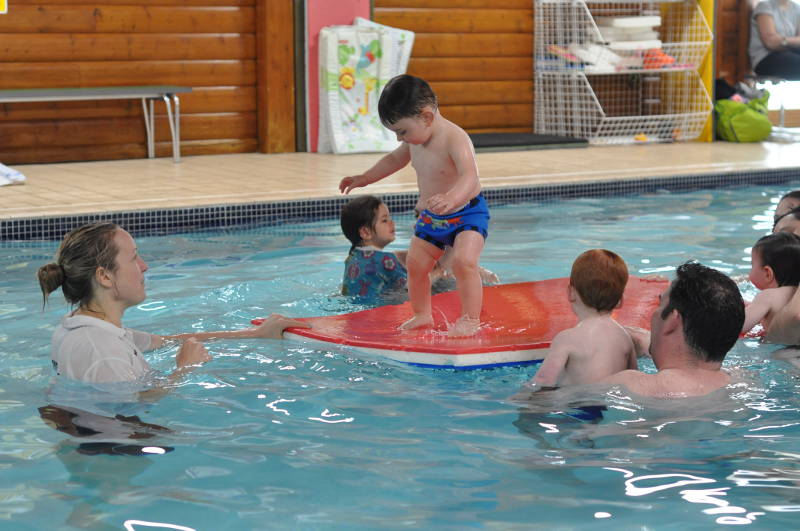 Parent & Toddler swimming classes